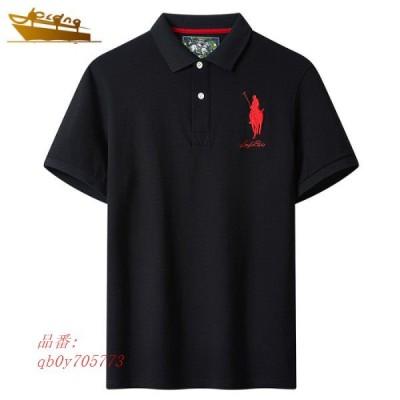 ポロシャツ メンズ ビズポロ Polo shirt 半袖 送料無料 白シャツ サマー ボタンシャツ 通気 清涼感 半袖ポロシャツ 夏限定 POLO 刺繍