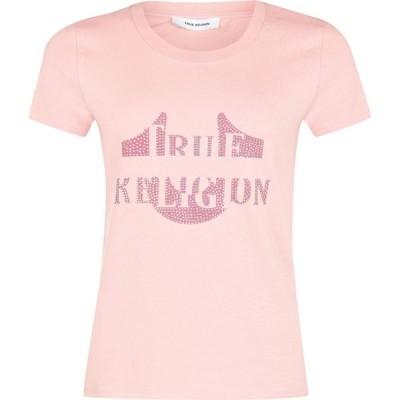 トゥルー レリジョン True Religion レディース Tシャツ トップス Morgan T-Shirt Misty Rose