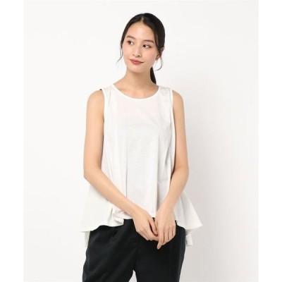 tシャツ Tシャツ ノースリーブフレアチュニック