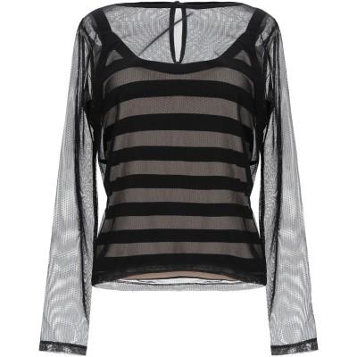 CELEBRITIES TRICOT T シャツ ブラック S ナイロン 70% / ポリウレタン 30% T シャツ