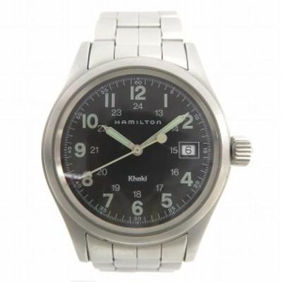 ハミルトン カーキ 6361 クォーツ 時計 腕時計 メンズ【中古】