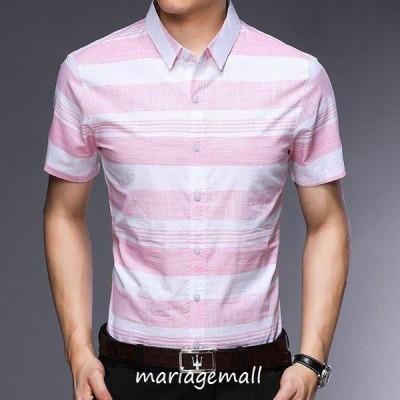 シャツ メンズ カジュアルシャツ メンズ 半袖 トップス アウトドア 通勤 薄て シャツ 大きいサイズ アメカジ