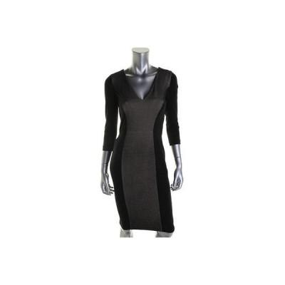 ドレス 女性  フレンチコネクション French Connection 3333 レディース ブラック ベルベットeen Wear to Work ドレス 0