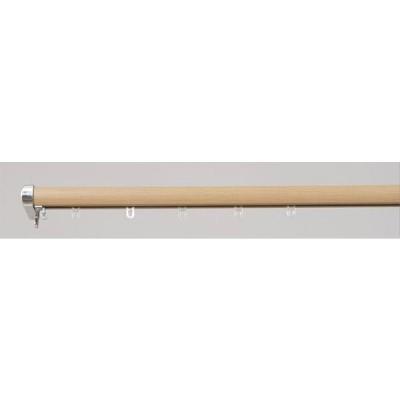 フルネス 装飾レール ロアール 2m用(120-200cm)  シングル 木目ミディアム