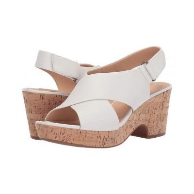 Clarks クラークス レディース 女性用 シューズ 靴 ヒール Maritsa Lara - White Leather