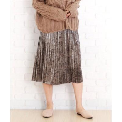 Amulet / ミモレ丈プリーツスカート WOMEN スカート > スカート