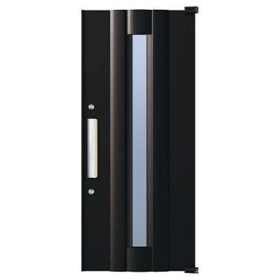 取替用玄関ドア デュガードデュオII DH2000用 ドアセットD-2081-KAG-R(L) YKKap アルミサッシ