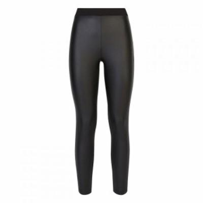 ジュームズ レイクランド James Lakeland レディース ボトムス・パンツ front faux leather trousers Black