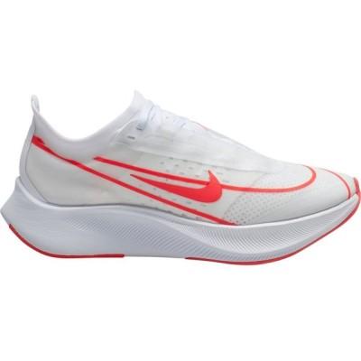 ナイキ Nike レディース ランニング・ウォーキング シューズ・靴 Zoom Fly 3 Running Shoes White/Red