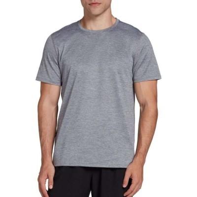 DSG メンズ フィットネス・トレーニング Tシャツ トップス Training T-Shirt Quiet Shade/Pure White