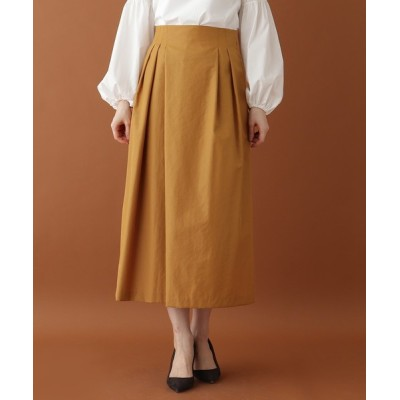 DRESSTERIOR / アシンメトリータックハイウエストスカート WOMEN スカート > スカート