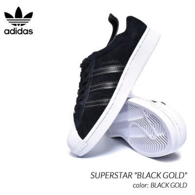 "adidas SUPERSTAR ""BLACK GOLD"" アディダス スーパースター スニーカー ( 黒 ブラック 金 ゴールド メンズ レディース ウィメンズ EH1543 )"