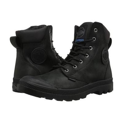 パラディウム Pampa Cuff WP Lux メンズ ブーツ Black/Black