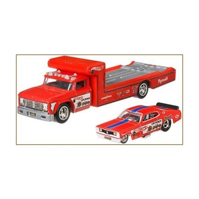 Hot Wheels Team Transport Retro Rig【並行輸入品】