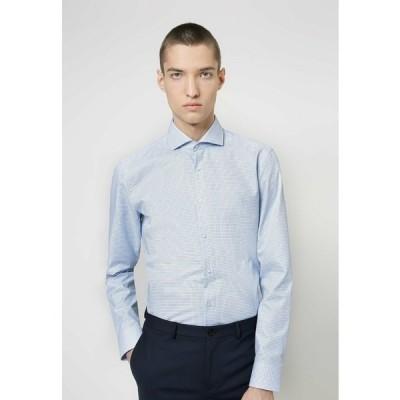 フューゴ シャツ メンズ トップス KASON - Formal shirt - light blue