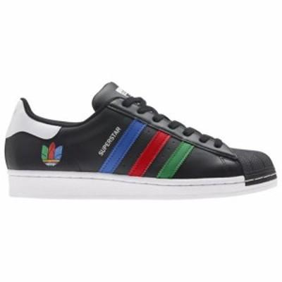 (取寄)アディダス オリジナルス メンズ シューズ スーパースター adidas originals Men's Shoes Superstar Black Green White