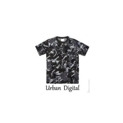 ds-1388198 カモフラージュ Tシャツ( 迷彩 Tシャツ) JT048YN アーバンデジタル XLサイズ (ds1388198)
