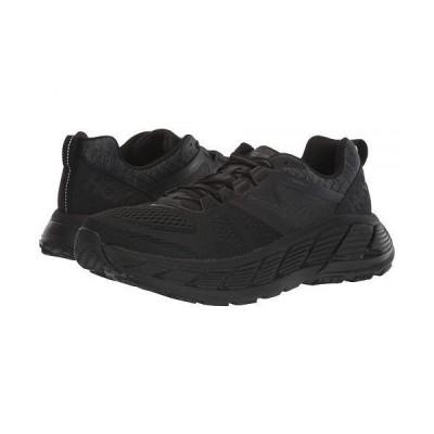Hoka One One ホカオネオネ レディース 女性用 シューズ 靴 スニーカー 運動靴 Gaviota 2 - Black/Dark Shadow