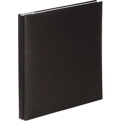 ナカバヤシ デジタルフリーアルバム デミサイズ ブラック アH-DF-132-D 1冊(直送品)