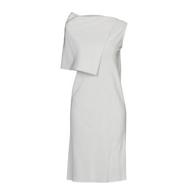 リック オウエンス RICK OWENS ミニワンピース&ドレス ライトグレー 38 シルク 100% ミニワンピース&ドレス