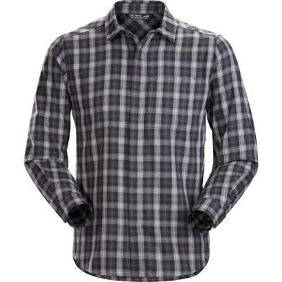 【倍倍ストア】(取寄)アークテリクス ロングスリーブ フランネル シャツ - メンズ Arc'teryx Bernal Long-Sleeve Flannel Shirt - Men's Scoria 倍々ストア