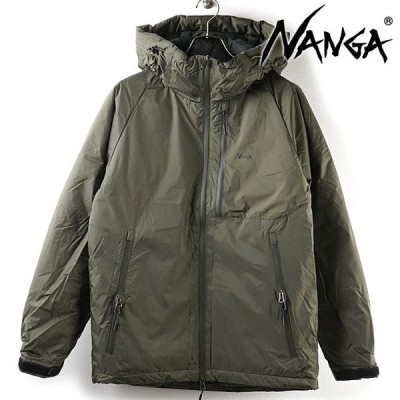 ナンガ NANGA メンズ オーロラダウンジャケット AURORA DOWN JACKET  FW20 アウトドア アウター フーデッド KHAKI カーキ系