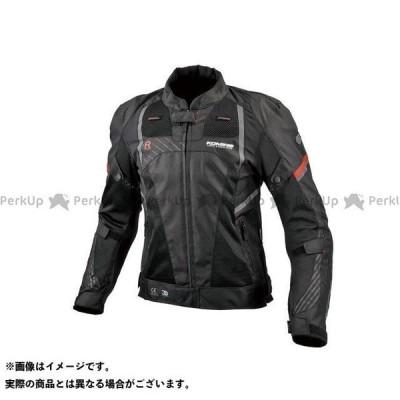 【無料雑誌付き】コミネ 2021春夏モデル JK-151 R-スペックプロテクトメッシュジャケット(ブラック) サイズ:M KOMINE