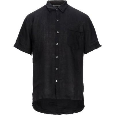 クロスリー CROSSLEY メンズ シャツ トップス Linen Shirt Black