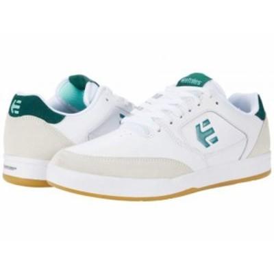 Etnies エトニーズ メンズ 男性用 シューズ 靴 スニーカー 運動靴 Veer White/Green【送料無料】