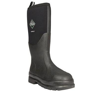 ムックブーツ ブーツ&レインブーツ メンズ シューズ Muck Chore Steel Toe Hi Boot Black