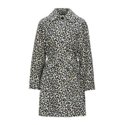 MAJE x SCHOTT ライトコート ファッション  レディースファッション  コート  その他コート ベージュ