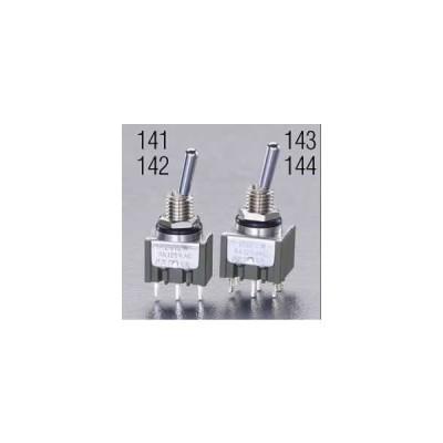 エスコ ESCO 125V/6A(6mm) 単極双投/トグルスイッチ(防水型) EA940DH-141 [I200223]