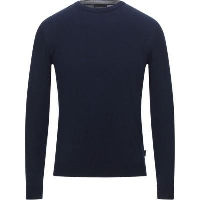 アルマーニ EMPORIO ARMANI メンズ ニット・セーター トップス sweater Dark blue