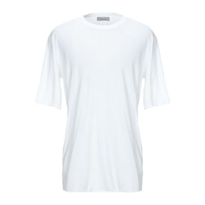 ラネウス LANEUS T シャツ ホワイト S コットン 96% / ナイロン 4% T シャツ