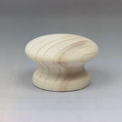 木製ツマミ S8744HZ16 直径:約44mm 家具 取っ手 (8393877)  送料別 通常配送