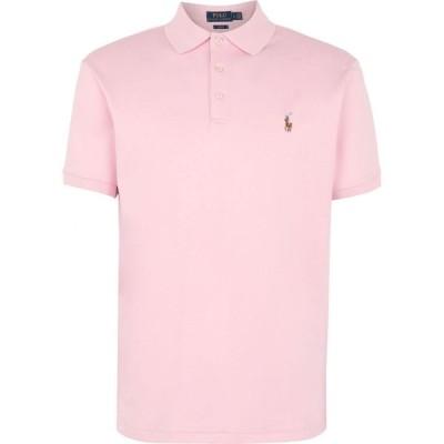 ラルフ ローレン POLO RALPH LAUREN メンズ ポロシャツ トップス slim fit soft touch polo shirt Pink