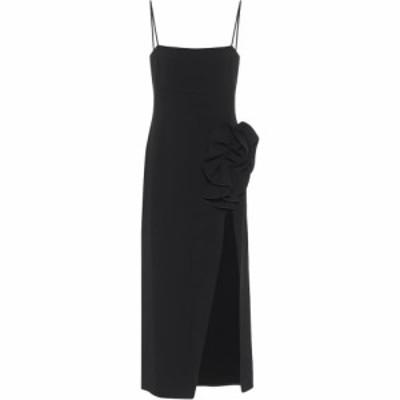 マグダ ブトリム Magda Butrym レディース ワンピース スリップドレス ワンピース・ドレス wool-blend slip dress Black