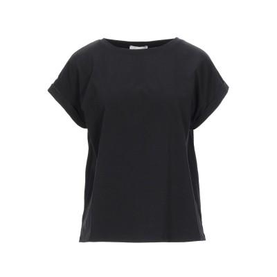 スノッビー シープ SNOBBY SHEEP T シャツ ブラック 40 コットン 95% / ポリウレタン 5% T シャツ