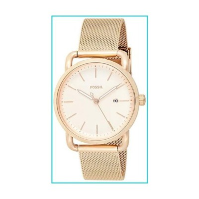 Fossil Women's The Commuter ES4333 Rose-Gold Stainless-Steel Quartz Fashion Watch【並行輸入品】
