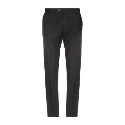 MASSIMO BRUNELLI パンツ ブラック 40 ポリエステル 63% / レーヨン 34% / ポリウレタン 3% パンツ
