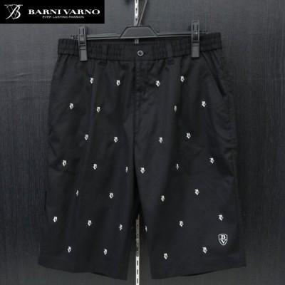 バーニヴァーノ ショートパンツ 黒 M-Lサイズ BSS-GPH2506-09 BARNI VARNO