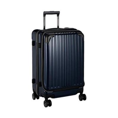 [ワイズリー] スーツケース 超軽量双輪スーツケース フロントオープン 22インチ コーナーパッド付き (ネイビー One Size)