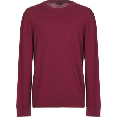 オジオ HoSIO メンズ ニット・セーター トップス sweater Maroon