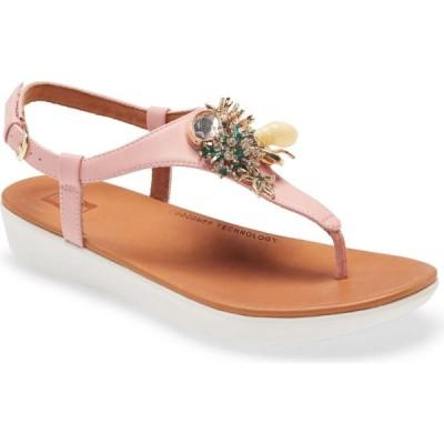 フィットフロップ FITFLOP レディース サンダル・ミュール シューズ・靴 Lainey Embellished Platform Sandal Soft Pink