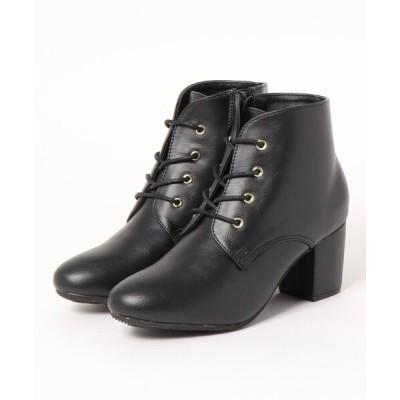 Mafmof / Realta(レアルタ) レースアップ ショートブーツ WOMEN シューズ > ブーツ