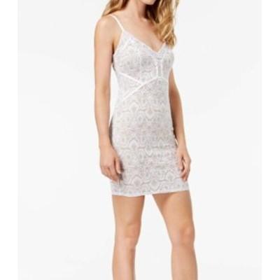 GUESS ゲス ファッション ドレス Guess NEW White Womens Size Large L Lush Lace Bodycon Sheath Dress