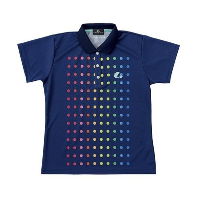 ルーセント(lucent) レディース ゲームシャツ(ネイビー) XLP-4876 XO