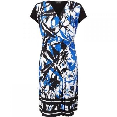 ジュームズ レイクランド James Lakeland レディース パーティードレス ワンピース・ドレス Floral Print Zip Dress Multi Coloured