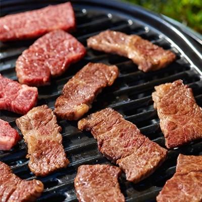 [さの萬]さの萬牛熟成焼肉カルビ ブランド牛で贅沢焼肉