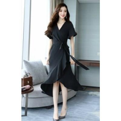 韓国 パーティードレス オルチャン ドレス 結婚式 お呼ばれ ドレス フォーマル ドレス パーティー ドレス 20代 30代 40代 4カラー